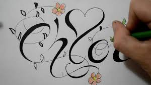 Drawn Graffiti Chloe 15