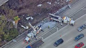 100 Milk Truck Accident 134 East2 South Connector Reopened After Milk Tanker Crash Abc7com