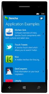 sencha touch with windows phone 8 sencha com