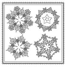 Winter Magic Beautiful Holiday Patterns Coloring Book For Adults Color