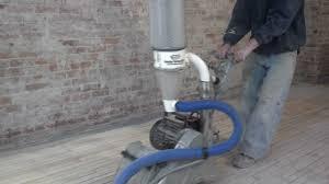 Clarke Floor Sander Edger Super 7r by Sanding A 90 Year Old Maple Hardwood Floor Youtube