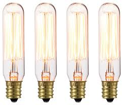 vintage edison mini 40w clear glass dimmable incandescent