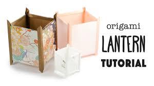 Origami Paper Lantern Tutorial