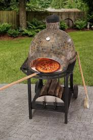 four a pizza exterieur sunjoy four à pizza au bois décoration extérieure walmart canada