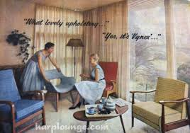 The Harp Lounge 1950s Australian Vogue Magazine Interiors