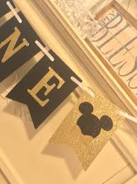 Mickey Mouse Birthday Banner , One High Chair Banner, Photo Prop, High  Chair Banner, Mickey Mouse Minnie Mouse Room Diy Decor Hlights Along The Way Amazoncom Disneys Mickey First Birthday Highchair High Chair Banner Modern Decoration How To Make A With Free Img_3670 Harlans First Birthday In 2019 Mouse Inspired Party Supplies Sweet Pea Parties Table Balloon Arch Beautiful Decor Piece For Parties Decorating Kit Baby 1st Disney