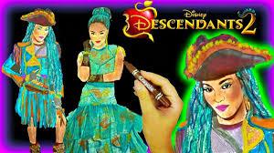 DISNEY DESCENDANTS 2 Color UMA Wickedly Cool Coloring Book