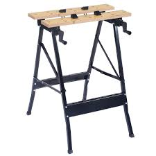 COSTWAY 2 X Telescopic Saw Horse Trestles With Adjustable Height