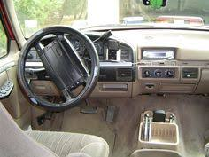 tan interior ford bronco showing dash