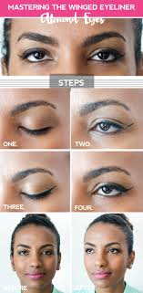 cat eye template clumsy chic perfecting the winged eyeliner for your eye shape