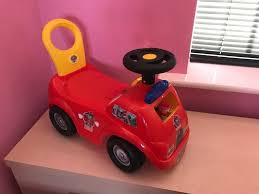Paw Patrol - Marshall Activity Fire Truck Ride On/Stand And Walk, As ... Paw Patrol Fire Truck 6 Volt Powered Ride On Toy By Kid Trax Fisherprice Power Wheels Paw Battery Powered Rideon Vintage Kids Babystyle Hook Ladder Classic New Electric Engine On Car Lisbon Student Earn A Ride Fire Truck News Sports Jobs 6v Toddler Quad Fisher Price In Dunfermline Fife Gumtree Vilac Wooden 2 In 1 Toddlers 18 Months Red 26095 All Things For Vehicles Sportrax Big Rig Rescue 4wd Marshall