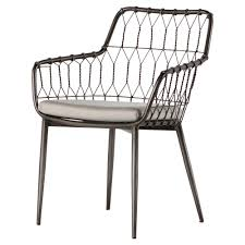 Albin Hairpin Iron Rattan Outdoor Dining Chair | Kathy Kuo Home Klaussner Outdoor Delray 7piece Ding Set Hudsons Breeze Ding Chair Alinum Frame Harbour Suncrown Brown Wicker Fniture 5piece Square Modern Patio To Enjoy Lovely Warm Summer Awesome Patio Quay Chair By King Living Est Living Design Directory Room Charming Image Of For Hampton Bay Belcourt Metal With Walmartcom Bilbao Five Piece Falster Ikea I Love The Looks Of This Outdoor Ding Set Table 10 Easy Pieces Chairs In Pastel Colors Gardenista