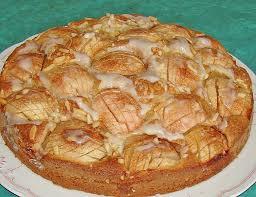 blitz apfel mandel kuchen mit punschguss juulee