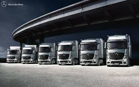 100 New Mercedes Truck A Row Of Actros Trucks Lined Up Benz S