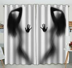 100 Sexy Living Rooms ZKGK Woman Window Curtain DraperyPanelsTreatment For Room Bedroom Kids 52x84 Inches Two Panel