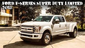 New 2018 Ford F-Series Super Duty Limited Pickup Trucks - YouTube Photos The Baddest Ford Fseries Trucks Of Sema 2017 Allnew F150 Police Responder Truck First Pursuit 1987 Press Photo Bronco Range F Series Historic Images How The Remains Relevant After So Many Years Evolution Autotraderca 6 Uncommon Arguments For Buying A Truck Fordtrucks Super Duty Brings 13 Billion Investment To Stx Returns My Now Available On Fseries Indepth Model Review Car And Driver Media Center Advanced Eeering