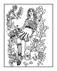 Secret Garden Coloring Book Artist Your Page By Fractalbee On