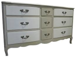 Kent Coffey French Provincial Dresser by Vintage U0026 Used Shabby Chic Dressers And Chests Of Drawers Chairish