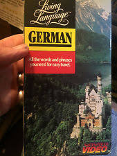 Language Educational NR Rated VHS Tapes