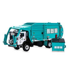 100 Toy Trash Truck Garbage Model 143 Scale Metal Diecast Recycling Clean