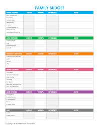 Budget Worksheets Worksheetssc1stTemplate