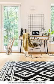 muster teppich wohnzimmer boden muster hell schwarzer
