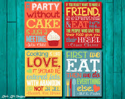 Popular Items For Kitchen Wall Decor On Etsy I Need This Theme To Say What Mom