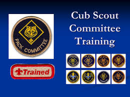Cub Scout Committee Chair Patch Placement by Cub Scout Committee Training Ppt Download
