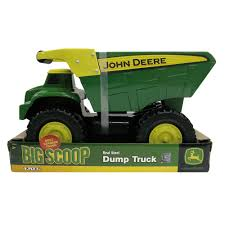 JOHN DEERE BIG SCOOP - DUMP TRUCK - Teddy 'N' Me