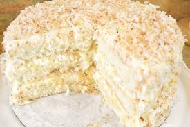 Southern Coconut Pineapple Cake Recipe Fluffy Coconut & Pineapple