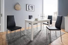 newroom esstisch noa ausziehbar inkl 40cm tischplatte weiß küchentisch speisetisch esszimmer kaufen otto