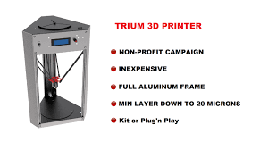 Delta Woodworking Machinery South Africa by The 20 Microns 399 U20ac Trium Delta 3d Printer By E Mergin