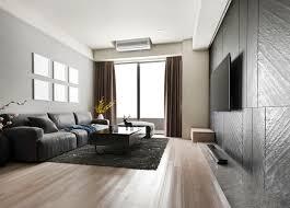 modernes esszimmer und wohnzimmer mit luxuriösem dekor und