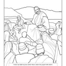 Coloring Page Liahona Oct 2007