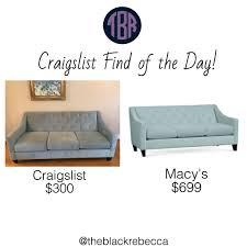 Cb2 Piazza Sofa Craigslist by Macys Tufted Sofa Best Home Furniture Design
