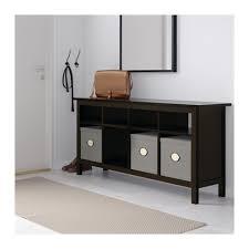 hemnes console table black brown ikea