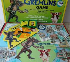 1980s Movie Collectible Gremlins Board Game 20000461 Zoom