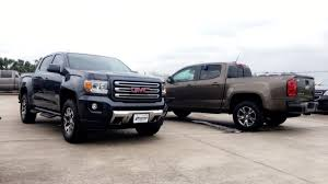 2017 Chevrolet Colorado Z71 VS 2017 GMC Canyon All Terrain ... Gmc Comparison 2018 Sierra Vs Silverado Medlin Buick F150 Linwood Chevrolet Gmc Denali Vs Chevy High Country Car News And 2017 Ltz Vs Slt Semilux Shdown 2500hd 2015 Overview Cargurus Compare 1500 Lowe Syracuse Ny Bill Rapp Ram Trucks Colorado Z71 Canyon All Terrain Gm Reveals New Front End Design For Hd