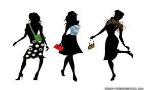 Fashion Show Clipart 1