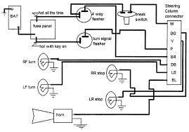 Chevy Truck Steering Column Wiring Diagram - Experts Of Wiring Diagram •