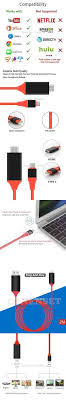 USB Type C to HDMI Cable USB 3 1 Type C Male to HDMI Male 4K Cable