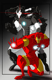 Iron Man And War Machine Color By Jorgecopo