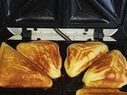 zitronen küchlein aus dem sandwichmaker