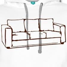 levrette sur canapé sweat shirts canapé spreadshirt