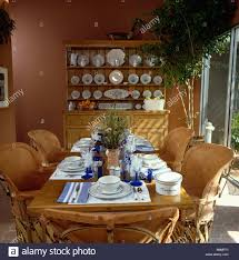 Pale Leather And Cane Mexican Chairs At Table Set For Lunch ... Mexican Pine Ding Table And Chairs Kimteriors Property Rentals On The Beach Luna Encantada C2 Tableware Wikipedia China Outdoor Fniture Nice Hall Loft Style Restaurant Stock Photo Edit 6 Chairs In De21 Derby For Kitchen Design Ideas Trum House Interior Before You Buy A Chair Room Set Indoor Indonesia Project Catering Singapore Cheat Your Way Through Party