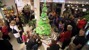 7ft Christmas Tree by Extreme Christmas Trees 10 Foot Cake Tree Youtube