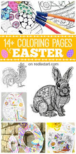 Free Coloring Pages For Easter Love These Gorgeous Colouring