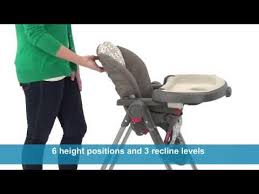 Graco High Chair Recall Contempo by Graco Contempo Highchair Youtube