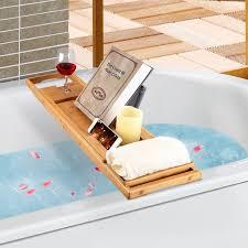 Teak Bathtub Caddy Canada by Designs Ergonomic Luxury Bamboo Bathtub Caddy Tray 25 Bamboo