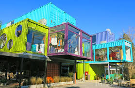 100 Houses Built From Shipping Containers Australia The QUO Container Mall In Buenos Aires